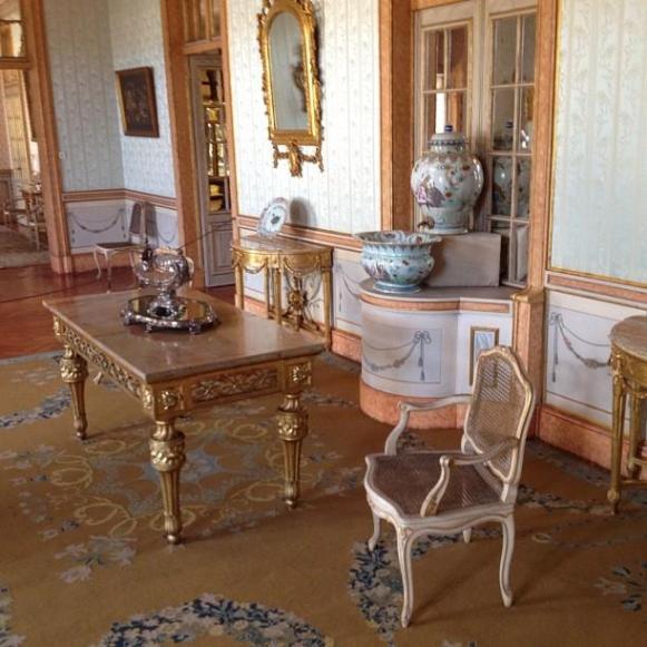 Palais royal de Queluz salle à manger