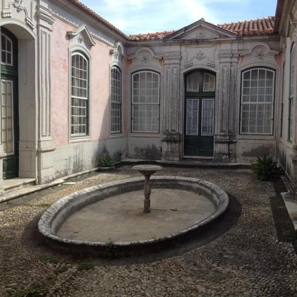 Palais royal de Queluz cour