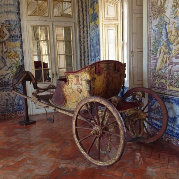 Palais royal de Queluz cabriolet