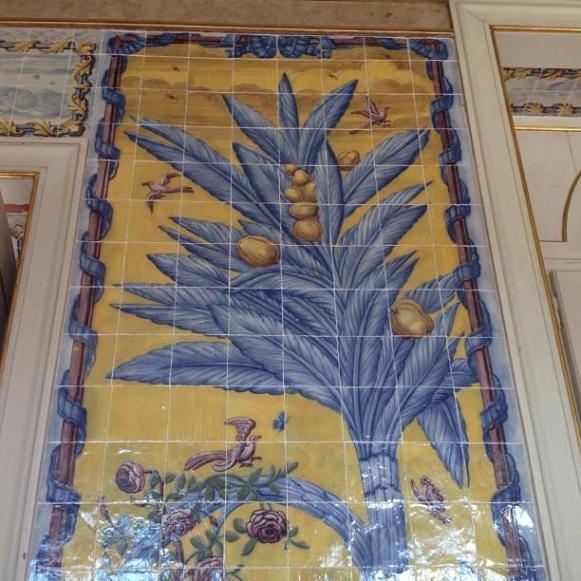 Palais royal de Queluz Salle des Azuleros