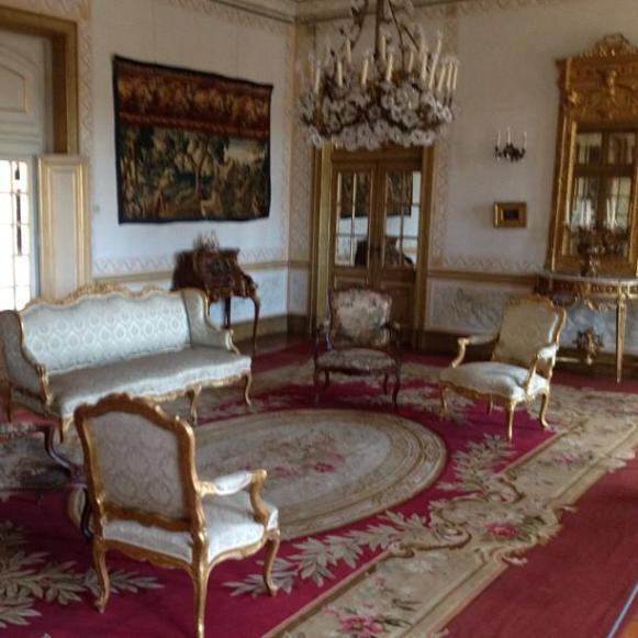 Palais royal de Queluz pièce des archers