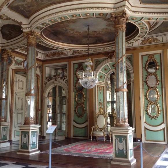 Palais royal de Queluz salle des ambassadeurs