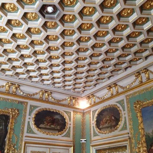 Palais royal de Queluz salle de pique-nique