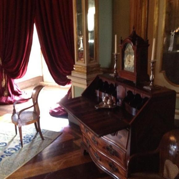 Palais royal de Queluz chambre Dom Quichotte