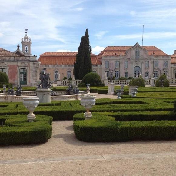 Palais royal de Queluz Portico dos Cavalinhos