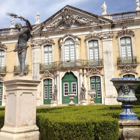 Palais royal de Queluz Facade Cérémoniale