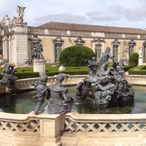Palais royal de Queluz Fontaine