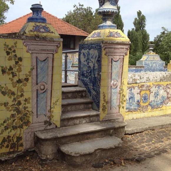 Palais royal de Queluz azuleros