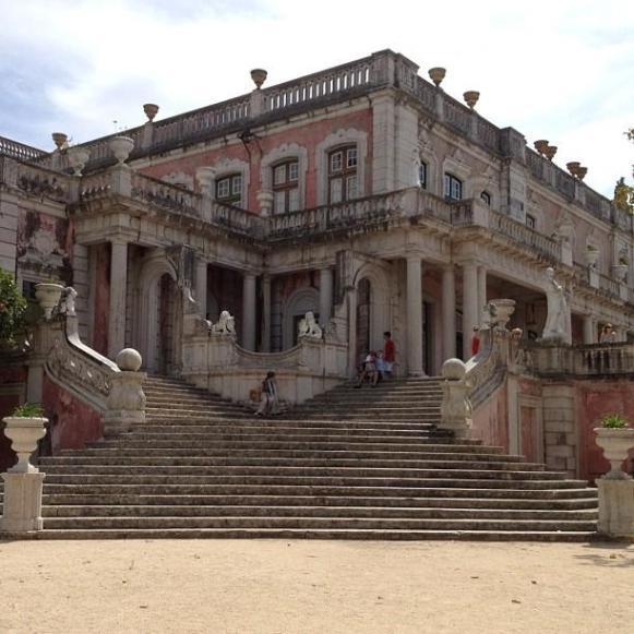 Palais royal de Queluz entrée Robillon