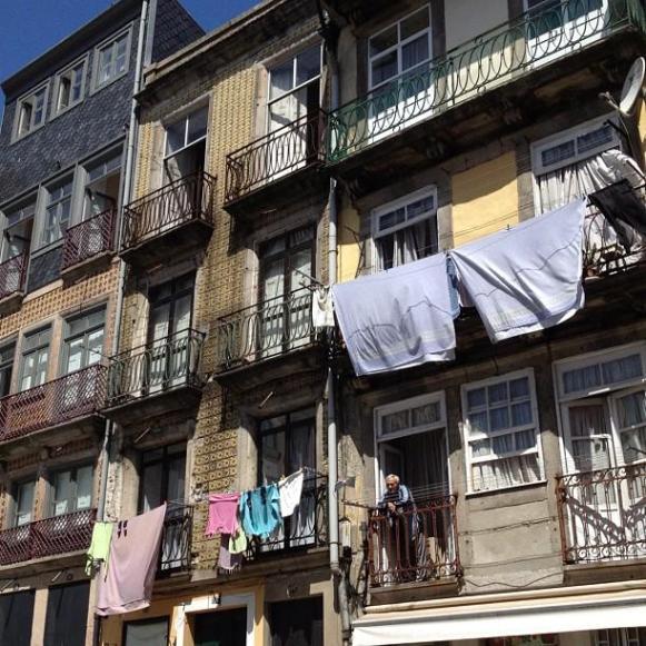 linge fenêtre Porto