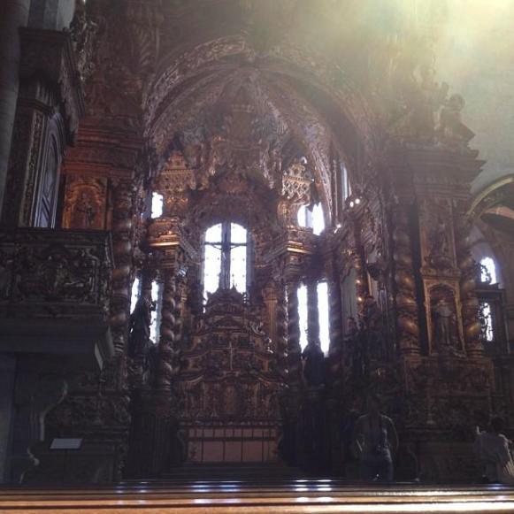 église Sao Francisco autel