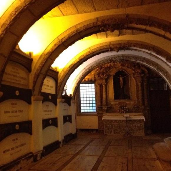 église Sao Francisco catacombes