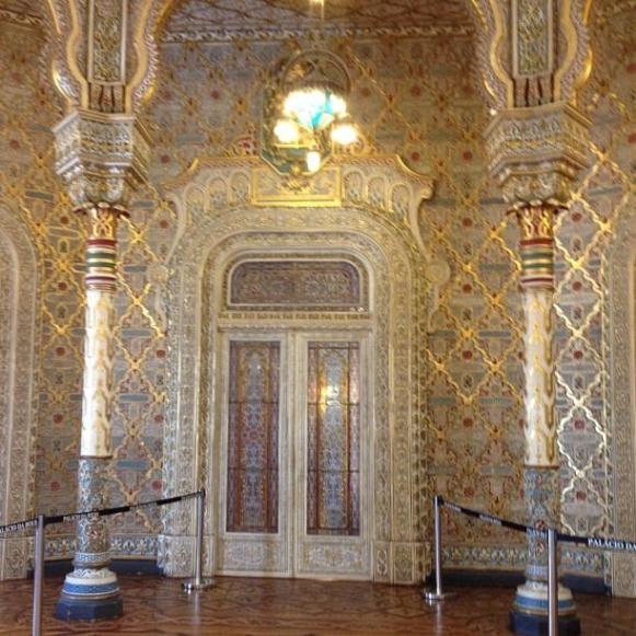 Palais de la Bourse Porto salle arabe