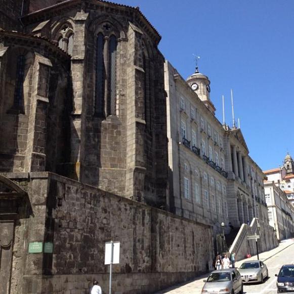 Palais de la Bourse Porto église Sao Francisco