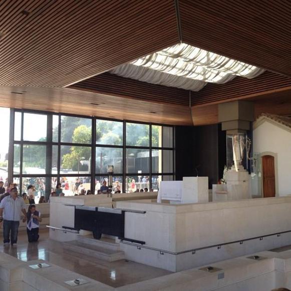 sanctuaire de Fatima esplanade