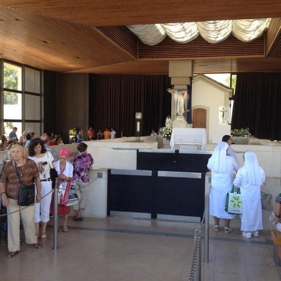 sanctuaire de Fatima messe