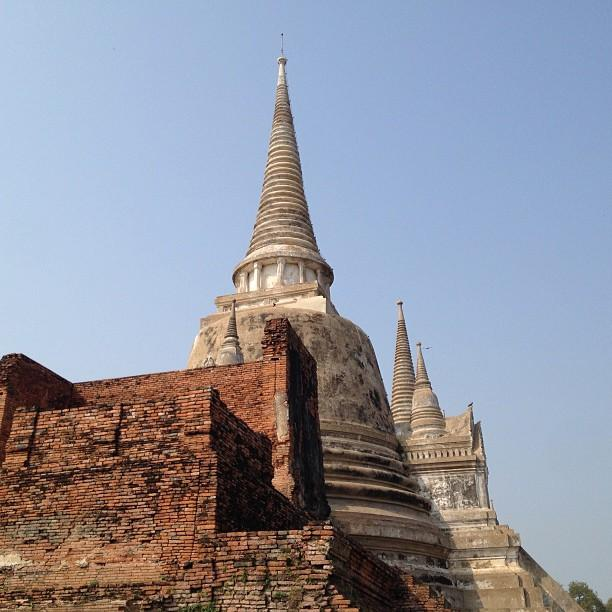 Thailande Ayutthaya Wat Phra Si Sanphet