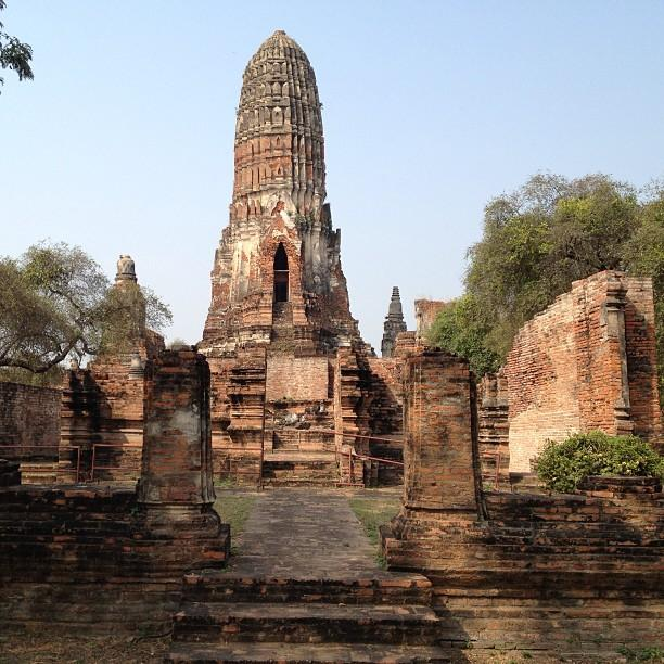 Thailande Ayutthaya Wat Phra Ram