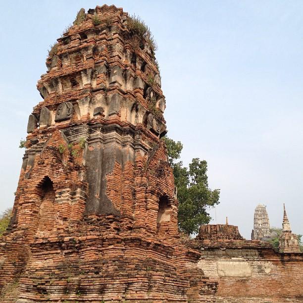 Thailande Ayutthaya Wat Phra Mahathat