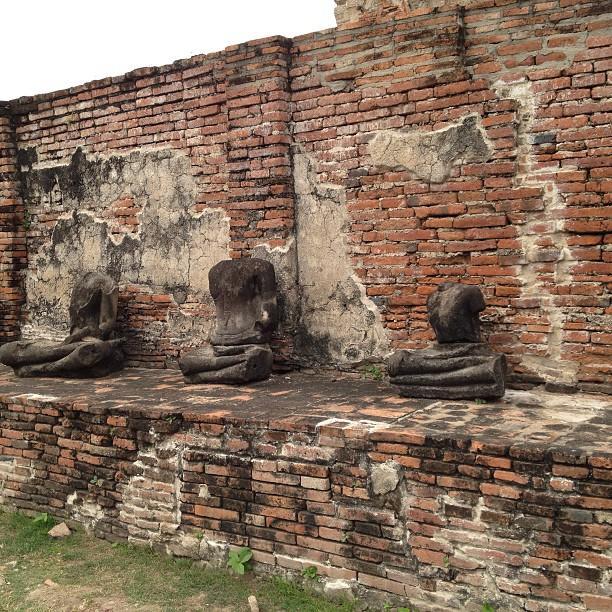 Thailande Ayutthaya WatPhraMahathat