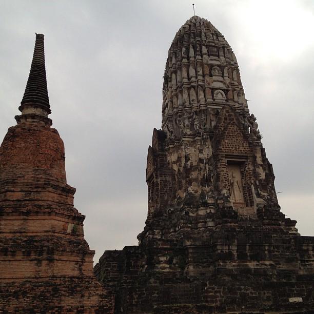Thailande Ayutthaya Wat Ratchaburana
