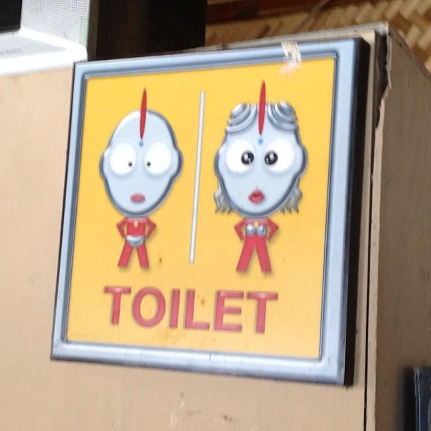 Thailande Ayutthaya toilettes