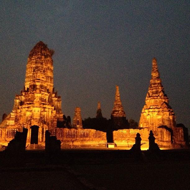 Thailande Ayutthaya Wat Chaiwattanaram