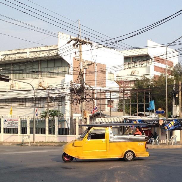 Thailande Ayutthaya 3-roues
