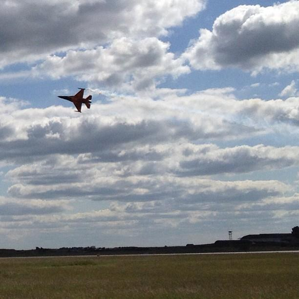 F-16A orange hollande