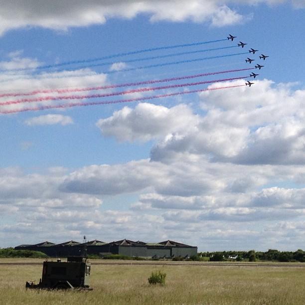 60 ans patrouille de France - grande fleche