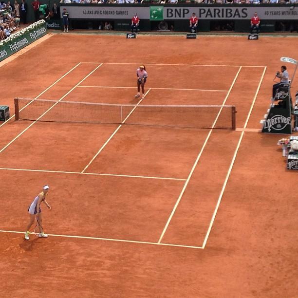 Roland Garros 2013 Finale Femme