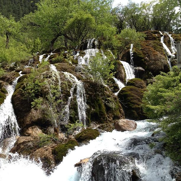 Chine Parc National de JiuzHaigou