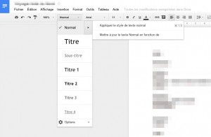Nouvelles version de Google Documents et Google Spreadsheet