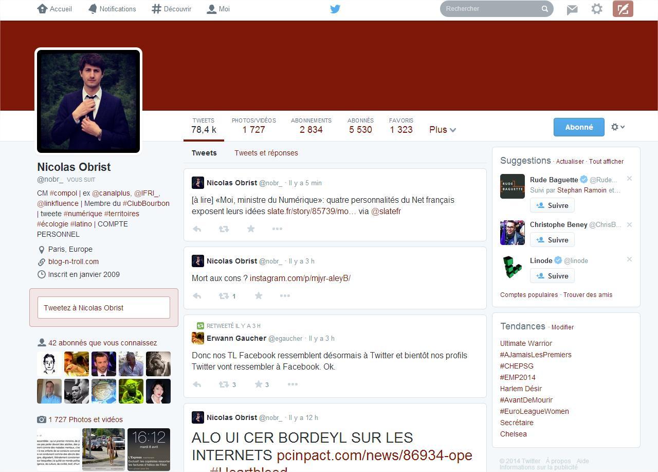 Nicolas Obrist (nobr_) sur Twitter