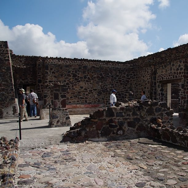 Mexique Mexico Teotihuacan