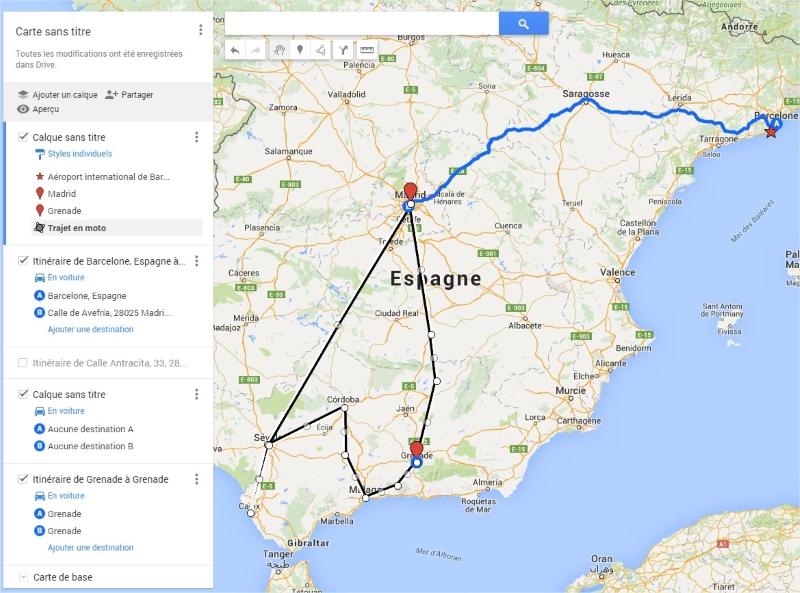 carte Google MyMaps