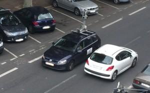 Une Google Car aperçue à Issy Les Moulineaux