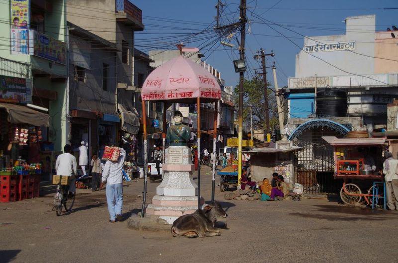 2014-03-07 Inde Shekawati Mandawa Down Town