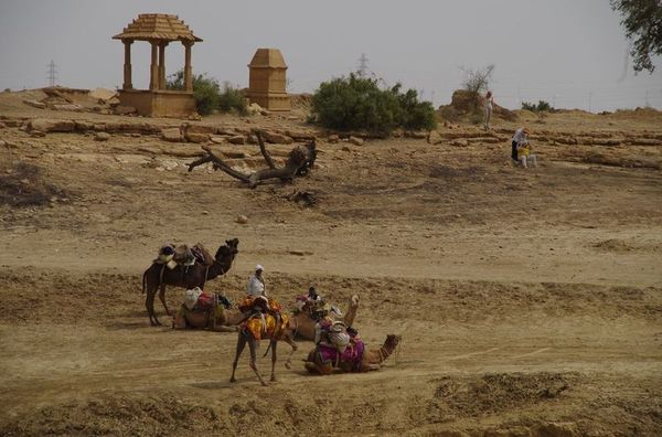 2014-03-10 Inde Jaisalmer Point deau