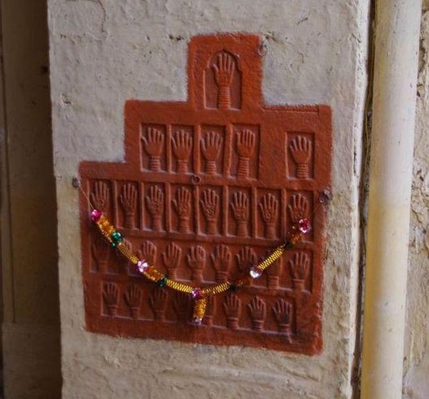 2014-03-12 Inde Jodhpur Fort Sati