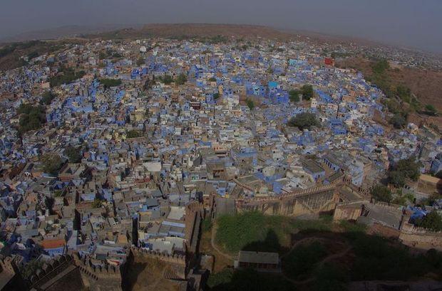 2014-03-12 Inde Jodhpur Ville bleue