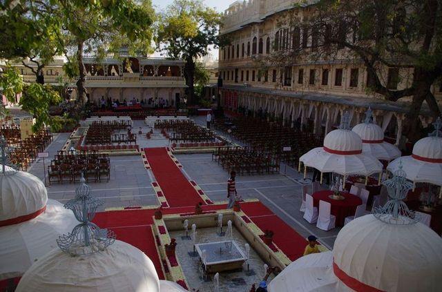 2014-03-14 Inde Udaipur City Palace Museum Wedding