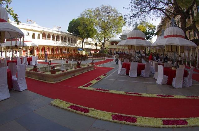 2014-03-14 Inde Udaipur City Palace Museum Wedding