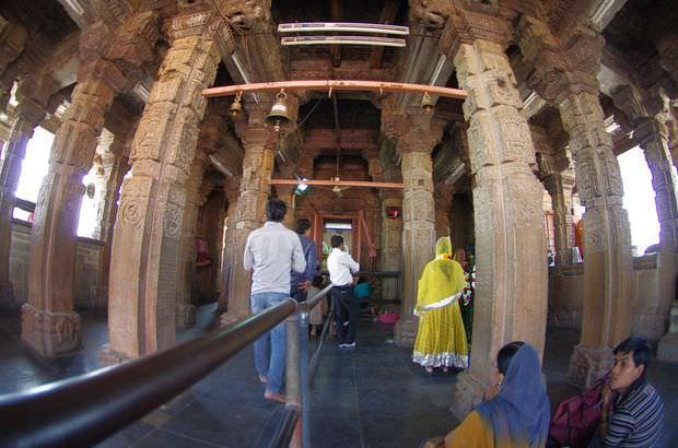 2014-03-15 Inde Chittorgarh Kalika Mata Temple