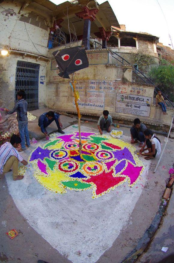 2014-03-16 Inde Bundi Holi Festival