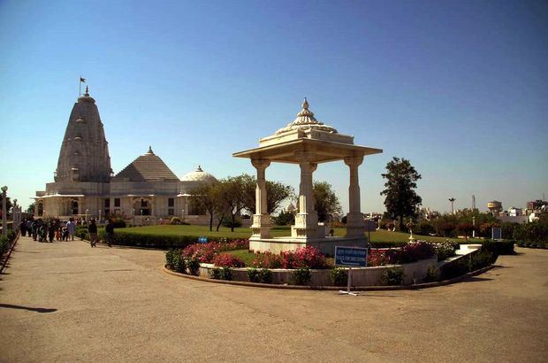 2014-03-17 Inde Jaipur Temple Birla Mandir Shri Lakshmi