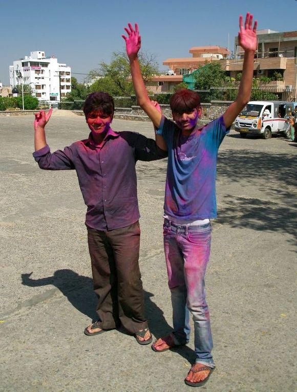 2014-03-17 Inde Jaipur Holi Festival