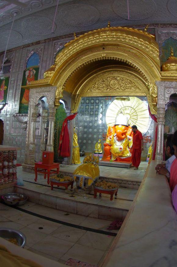 2014-03-17 Inde Jaipur Temple Moti Dungri Ganesh