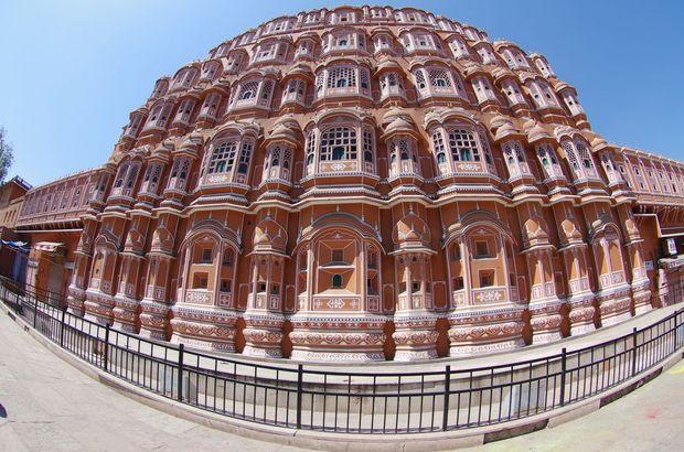 2014-03-17 Inde Jaipur Palais des vents