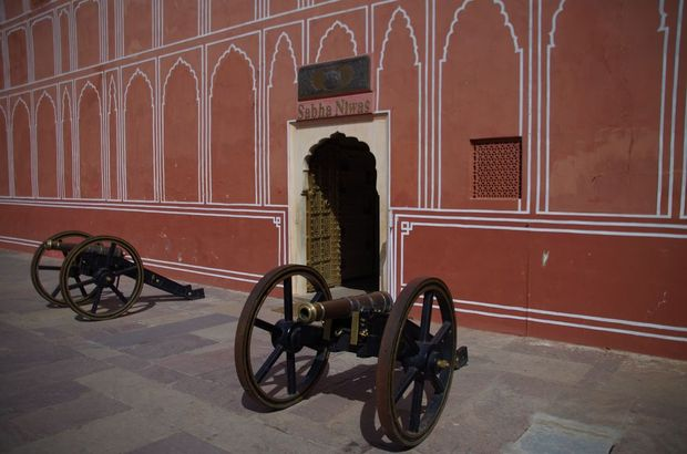 2014-03-18 Inde Jaipur City Palace Museum Sabha Niwas